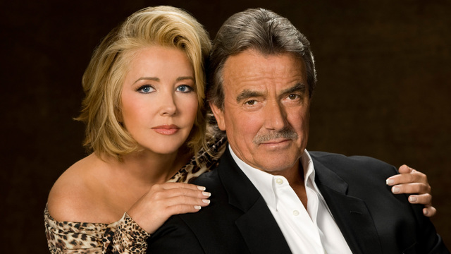 Eric Braeden & Melody Thomas Scott