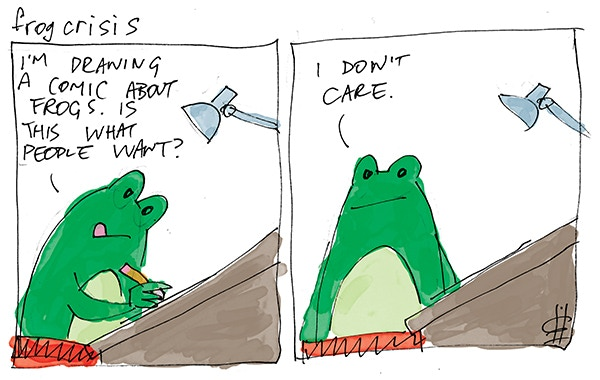 Frog Crisis by Greg Hyland #1
